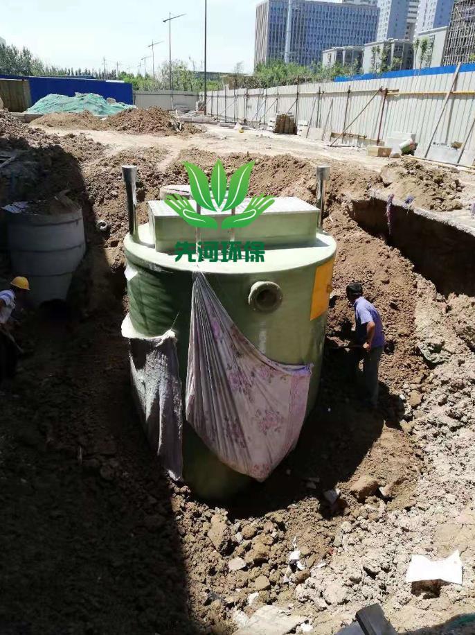 一体化污水自动泵站